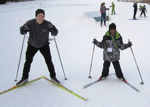 Learning to cross country ski teaches kids perseverance and how love winter.