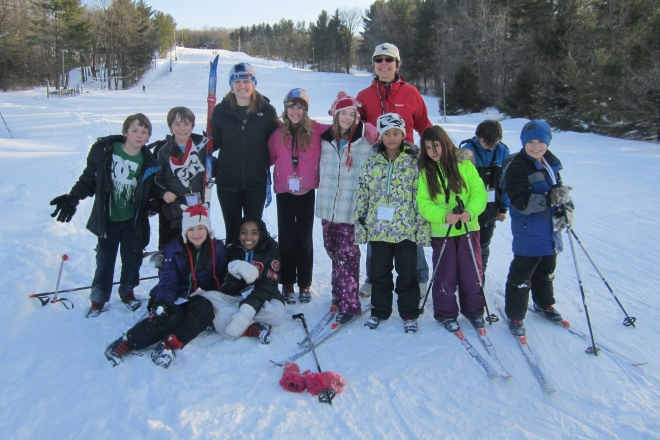 The Kids of Ski Club 2013: Spring can now official begin