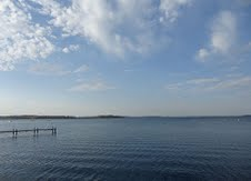 Beautiful Lake Mendota offers great urban fishing.