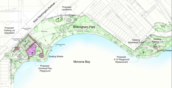 Brittingham Park proposed plans 2015